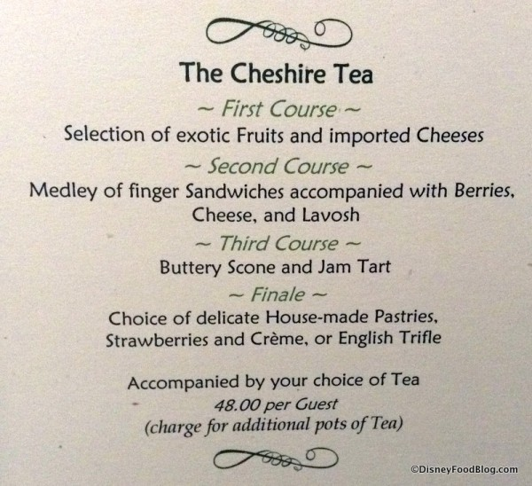 Cheshire Tea package
