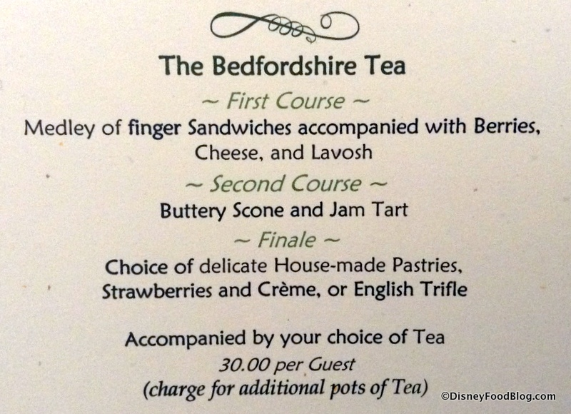 News Changes To Afternoon Tea Packages At The Grand Floridian S Garden View Lounge The Disney