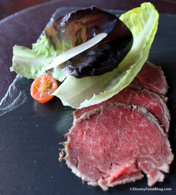 Harry's Beef Carpaccio