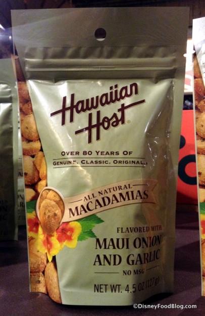 Maui Onion and Garlic Macadamia Nuts