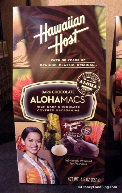 Hawaiian Host Dark Chocolate covered Macadamia Nuts