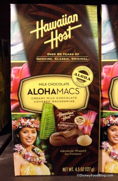 Hawaiian Host Milk Chocolate Covered Macadamia Nuts