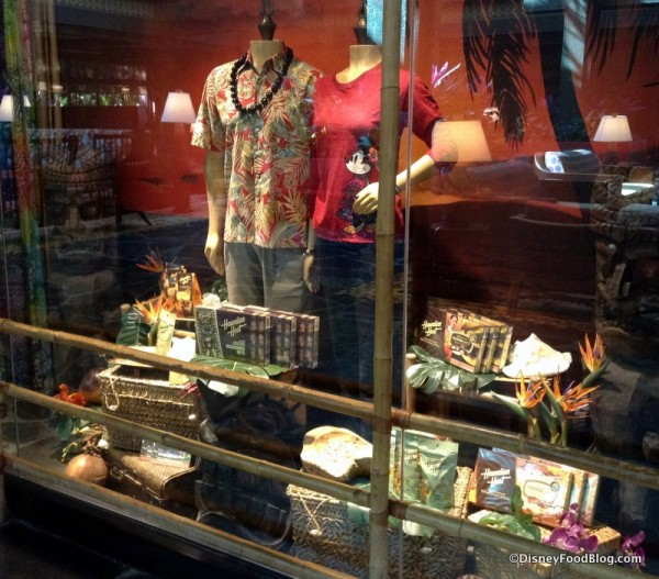 Boutiki window display