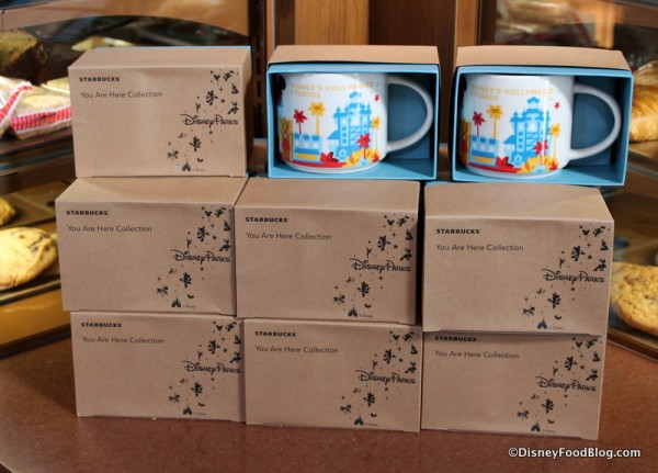 "Hollywood Studios ""You Are Here"" mugs"