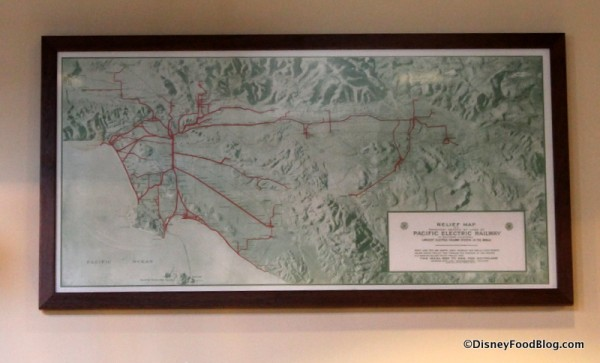 Pacific Electric Railway map