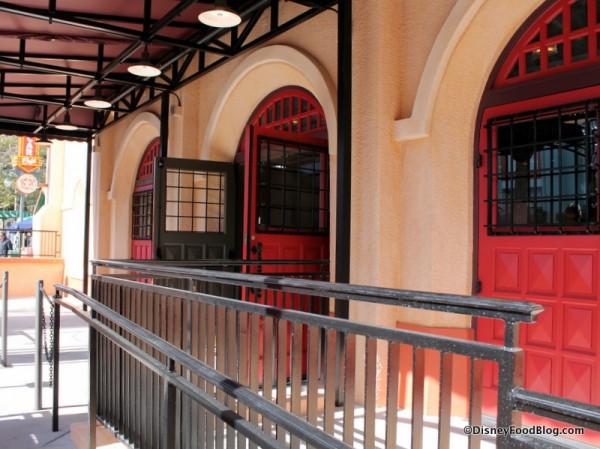 Trolley Car Cafe entrance