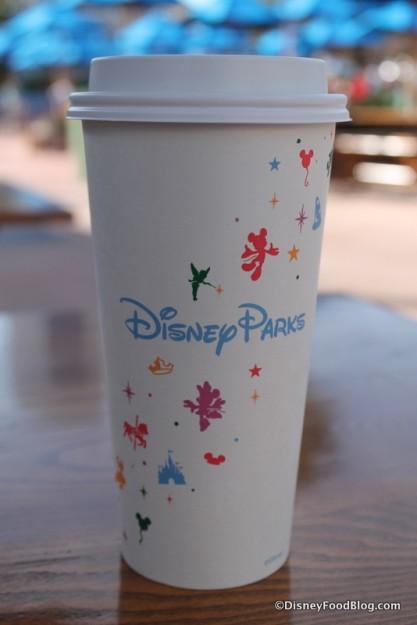 Disney Parks Starbucks coffee cup