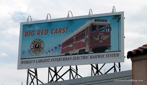 Big Red Cars billboard