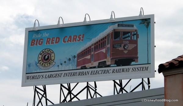 Big Red Cars billboard