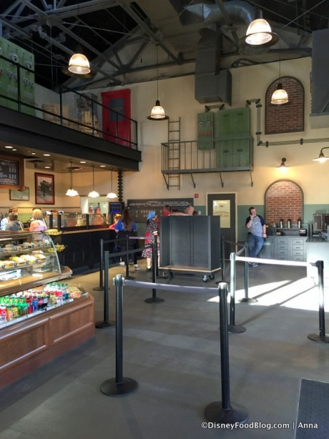 Trolley Car Cafe Inside
