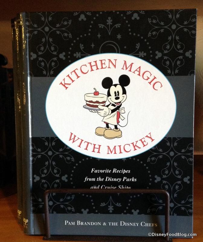 "News! New ""Kitchen Magic With Mickey"" Disney Cookbook"