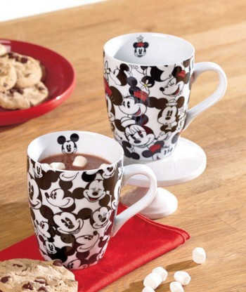 Mickey and Minnie Mouse Mugs