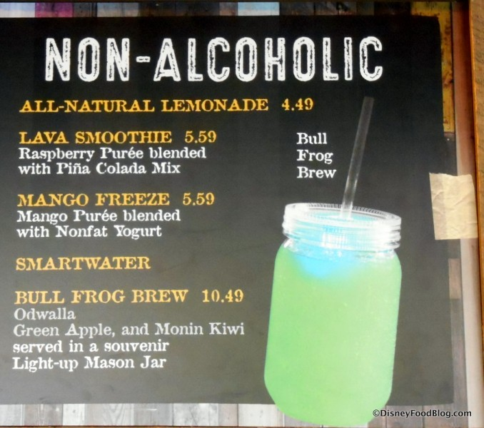 Non-Alcoholic Drinks