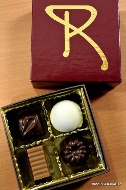 Box of Remy chocolates