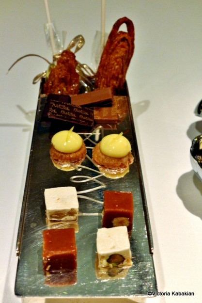 An array of mignardises