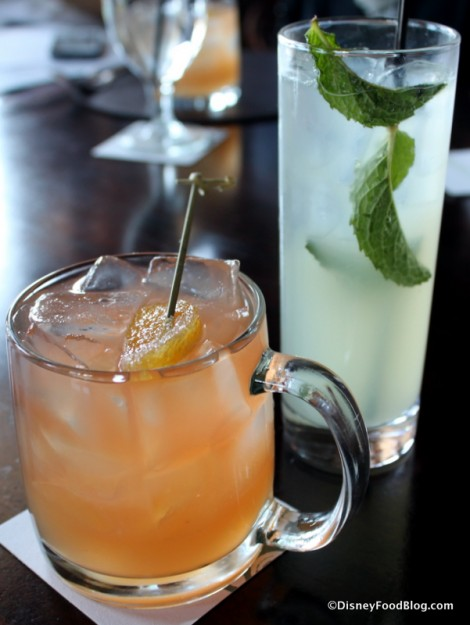 Teelings Whiskey Punch and Ginger Mojito