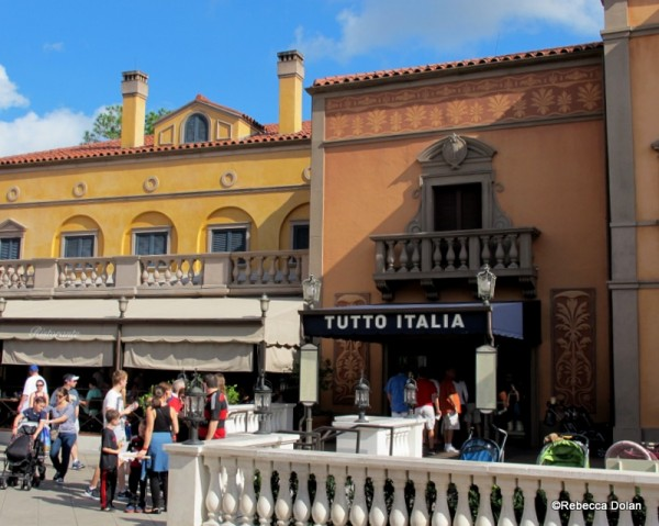 Review tutto italia ristorante in epcot 39 s italy pavilion for Tutete italia