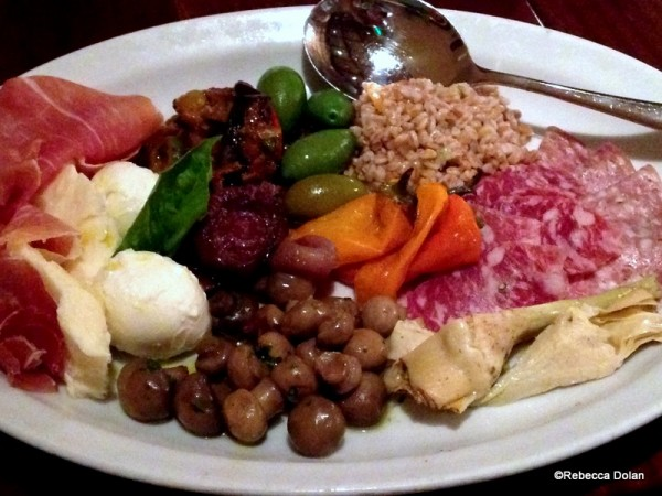 The grande antipasto misto