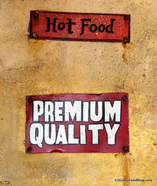 Hot Food, Premium Quality