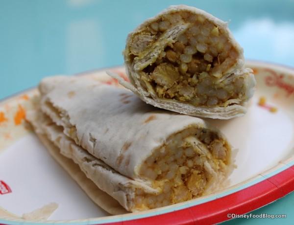 Roasted Vegetable Couscous wrap