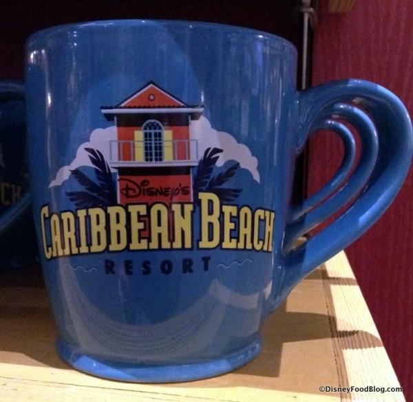 Caribbean Beach Resort mug