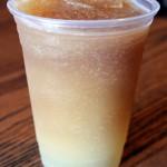 Review: Iced Tea Lemonade Slush at Magic Kingdom's Columbia Harbour House