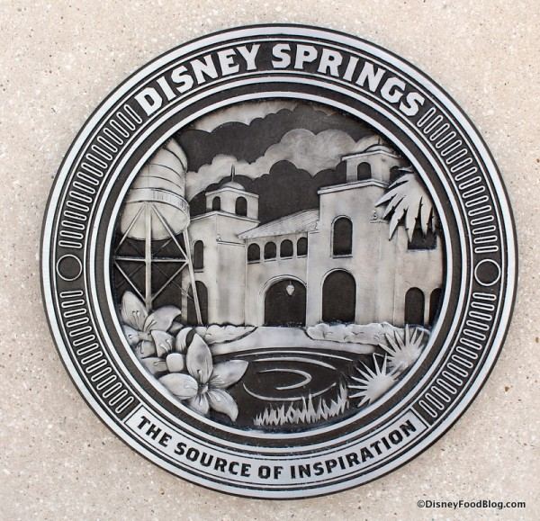 Disney Springs sign