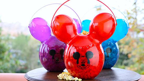 Balloon Popcorn Buckets