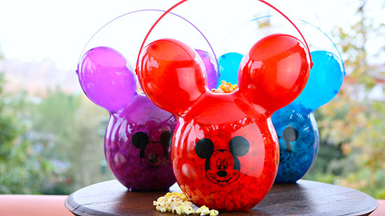 Balloon Popcorn Buckets