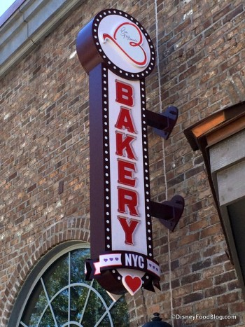 Erin McKenna's Bakery sign