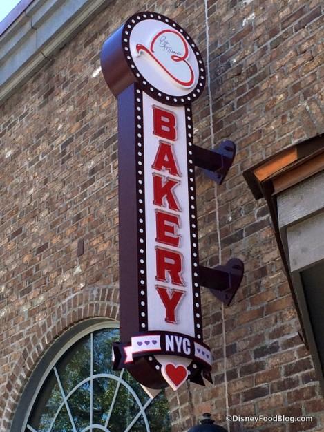 Erin McKenna's Bakery sign