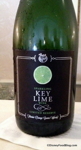 Key Lime Sparkling Wine