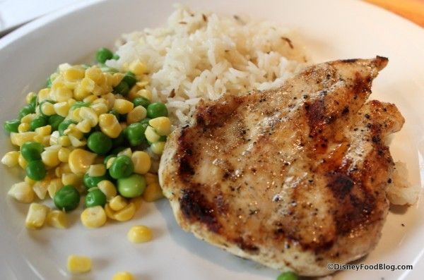 Kids' Mickey Check Meal - Grilled Chicken Breast
