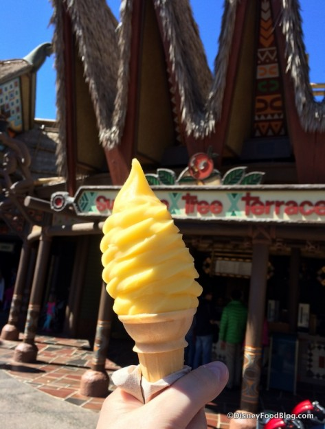 Dole Whip at Sunshine Tree Terrace