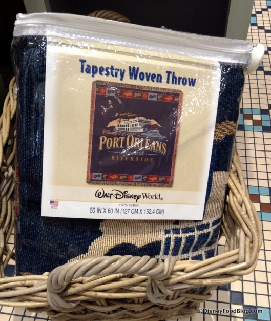 Port Orleans Riverside Throw