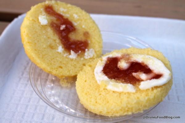 Inside Victoria Sponge Cake