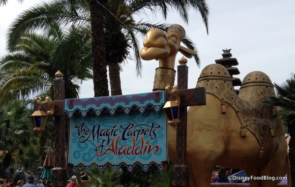 Magic Carpets of Aladdin Camel