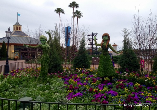 Anna and Elsa Debut at Epcot's Flower and Garden Festival This Year!