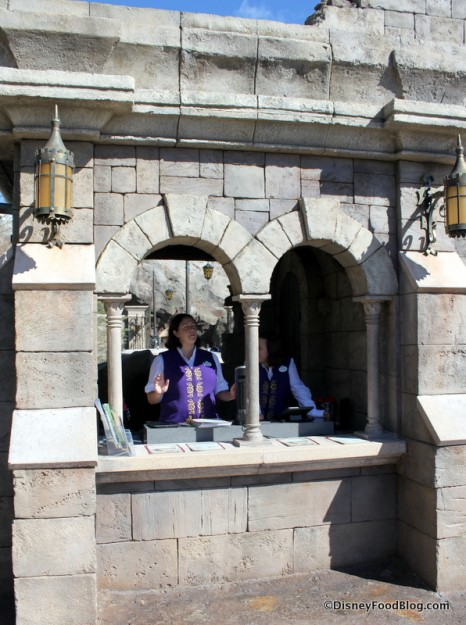 Check In for Be Our Guest Restaurant