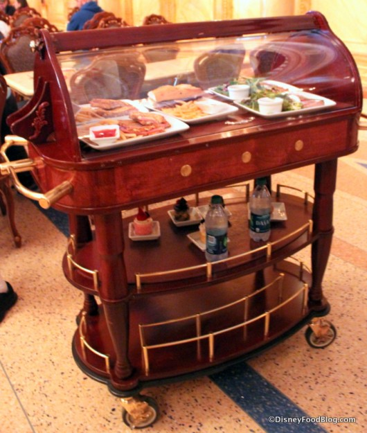 Lunch is Served! -- Lunch Delivery Trolley