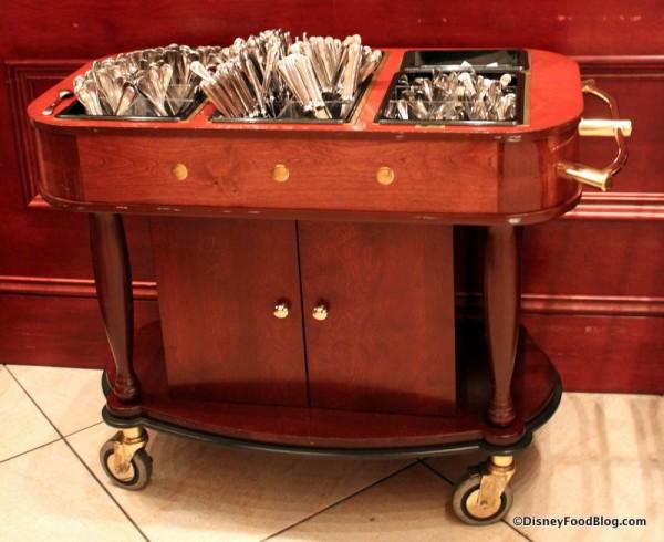 Silverware Cart