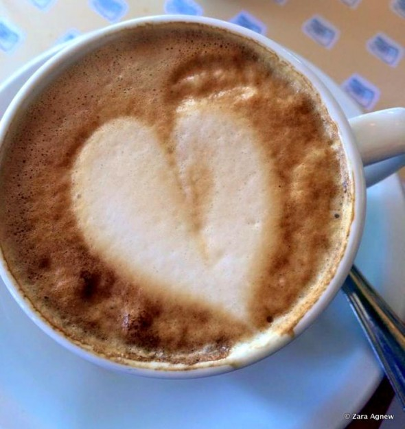 Cappuccino with Love from Les Chefs de France