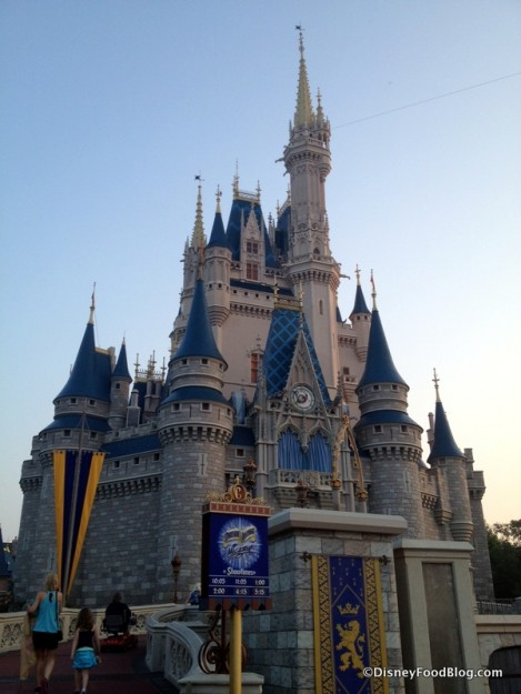 Cinderella Castle in the early morning light