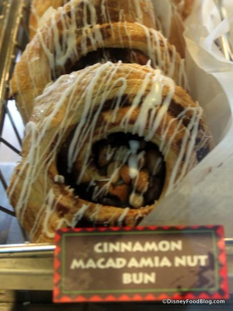 Cinnamon Macadamia Nut Bun