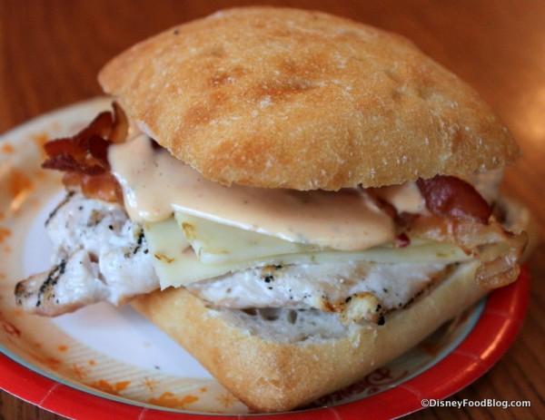 Deluxe Chicken Sandwich