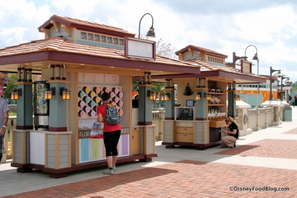 Kiosks on the Causeway