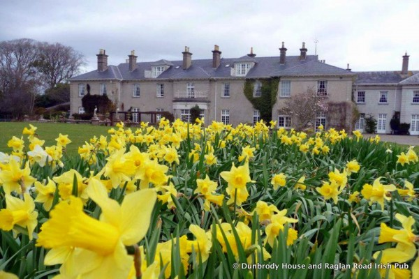 Dunbrody House in Spring