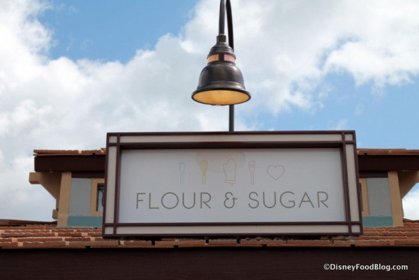 Flour & Sugar sign