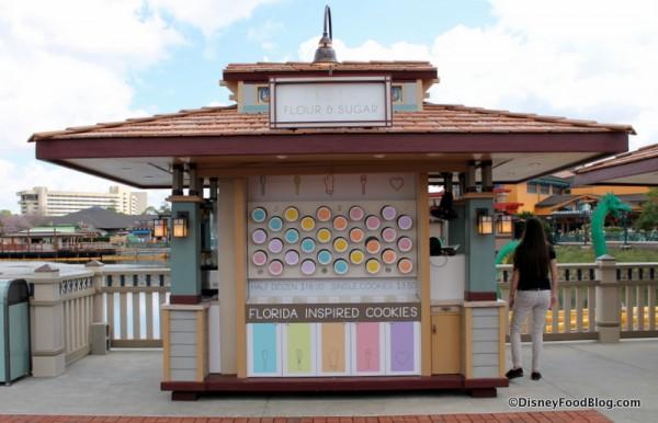 Flour and Sugar kiosk