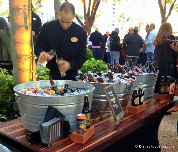 Just a Few of the MANY Beer Garden Offerings